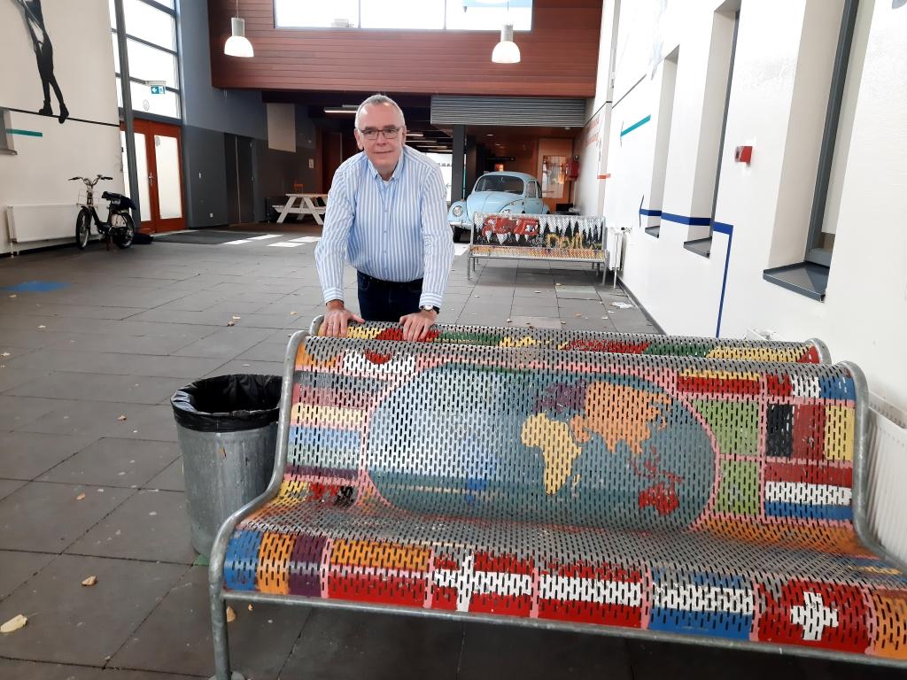 Dick van Steenis met pensioen